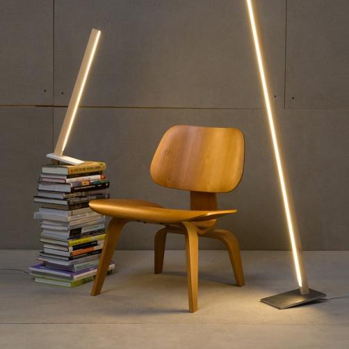 stick bulb lampadaire, lampe NYC design contemporain neon bois ecolo