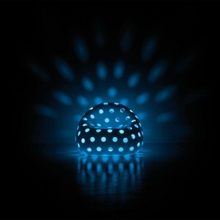 airball armchair light blue Nedgis