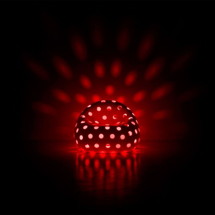 airball armchair light red Nedgis
