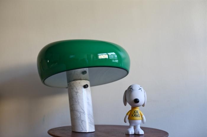 lampe-snoopy-par-achille-castiglioni-nedgis