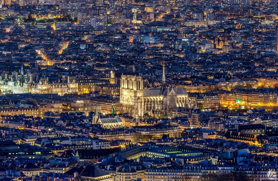 Bonne soirée, Paris by night