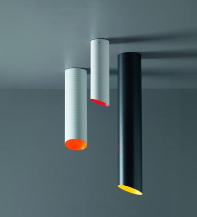SLice Karboxx ceiling light Nedgis plafonnier coloré design