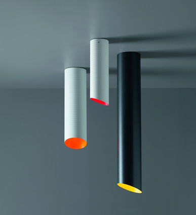 SLice Karboxx ceiling light Nedgis plafonnier coloré design