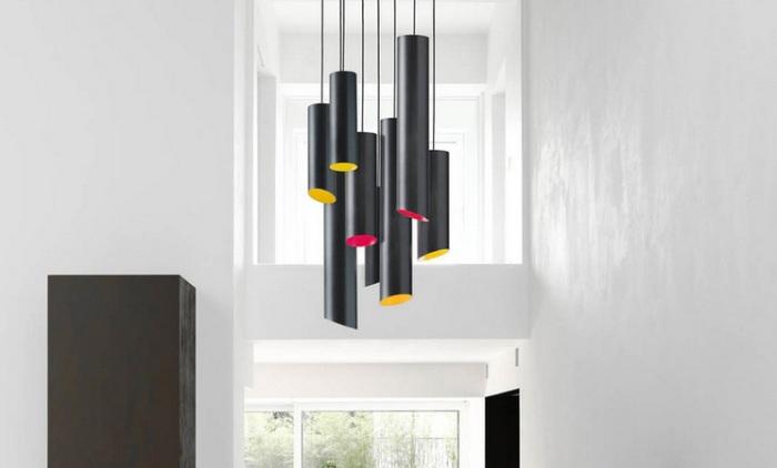 SLice Karboxx Nedgis suspension lustre colore design