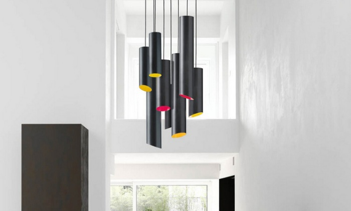 SLice Karboxx Nedgis suspension lustre colore design