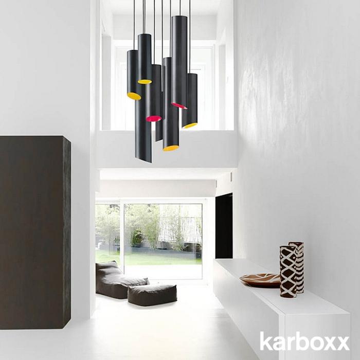 SLice Karboxx pendant light Nedgis lustre supension colore design