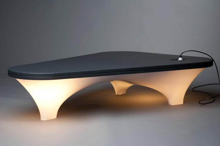 staticplastic_table lumineuse Nedgis