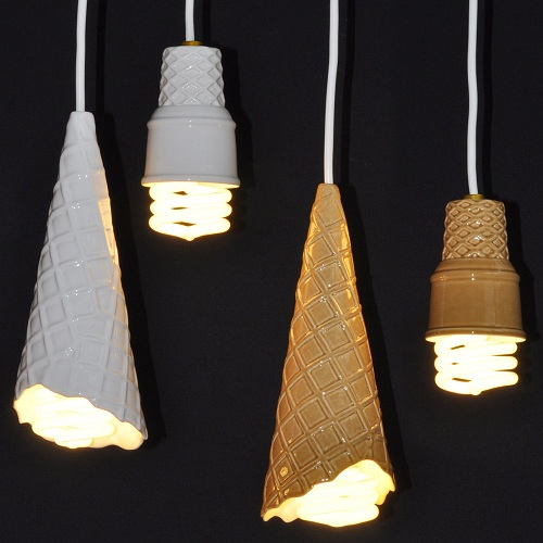 Ice-Cream-Cone-Lamps