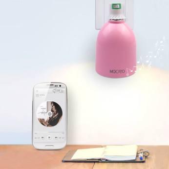 Mocreo Musique LED Ampoule pink Nedgis 3