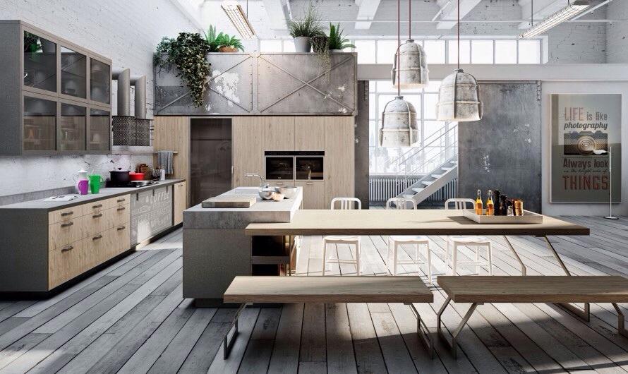 Luminaire de cuisine et espace de vie quel est votre style for Cuisine style nordique