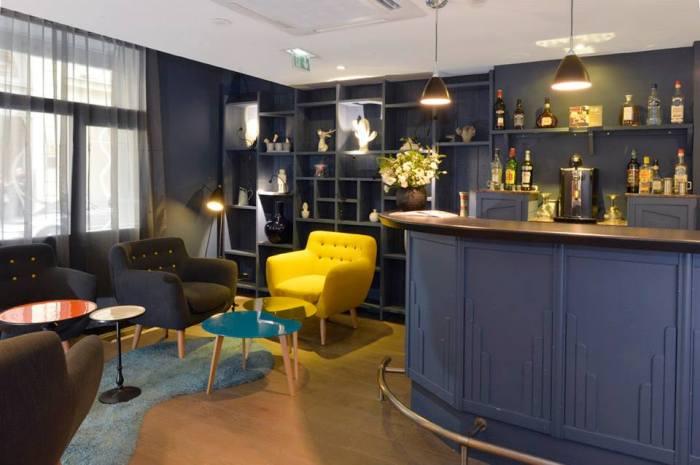 hotel emeraude Paris Nedgis 2 living room