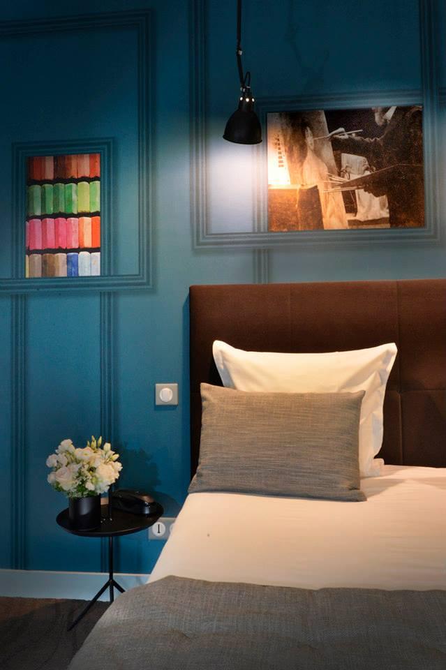 hotel emeraude Paris Nedgis chambre