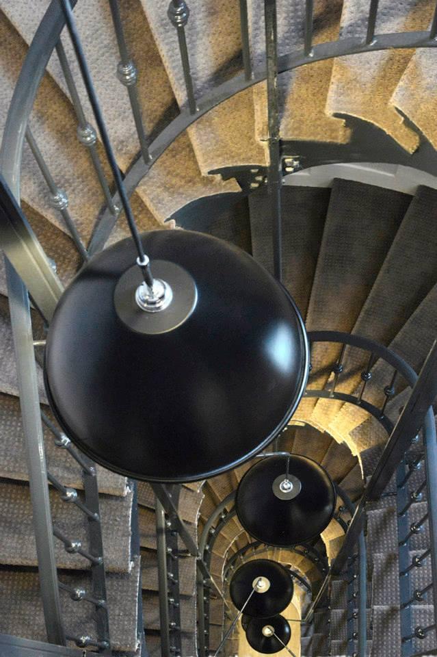 hotel emeraude Paris Nedgis escalier