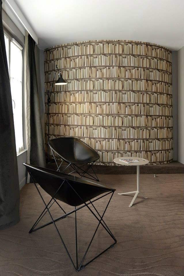 hotel emeraude Paris Nedgis library