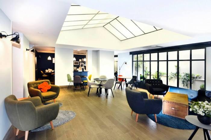 hotel emeraude Paris Nedgis living room