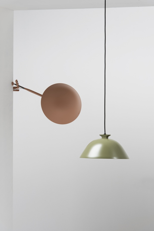 Pendant light inga sempé wastberg green