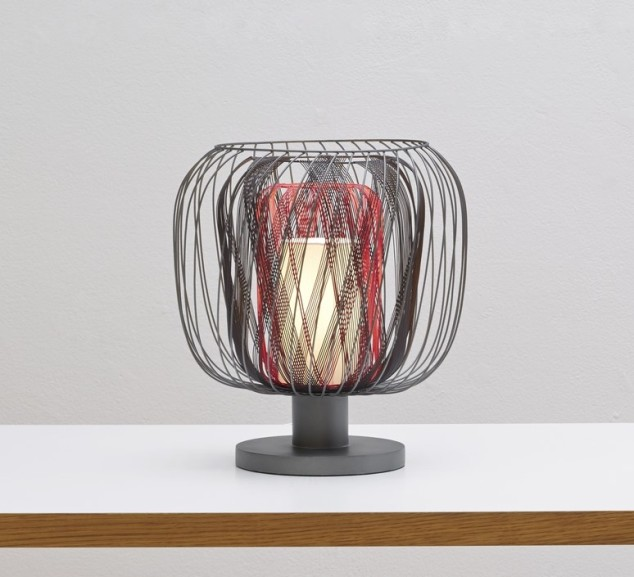 LAMPE À POSER, BODYLESS, ROSE, H33,9CM – FORESTIER