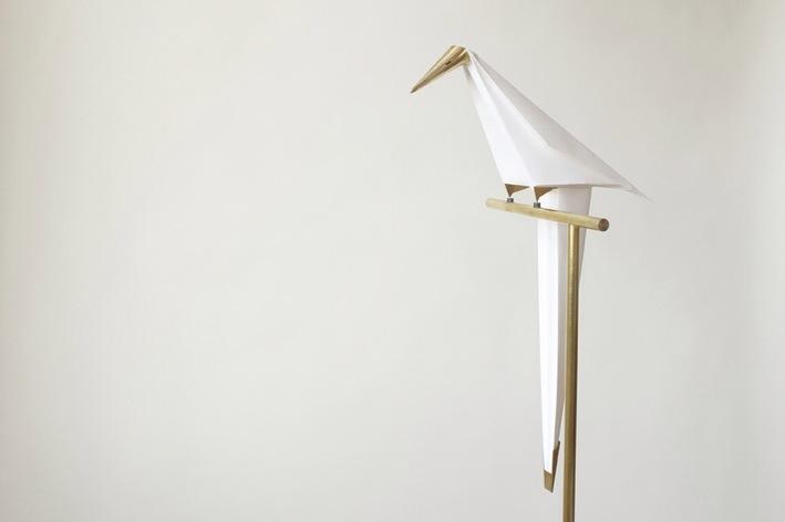 lampadaire oiseau