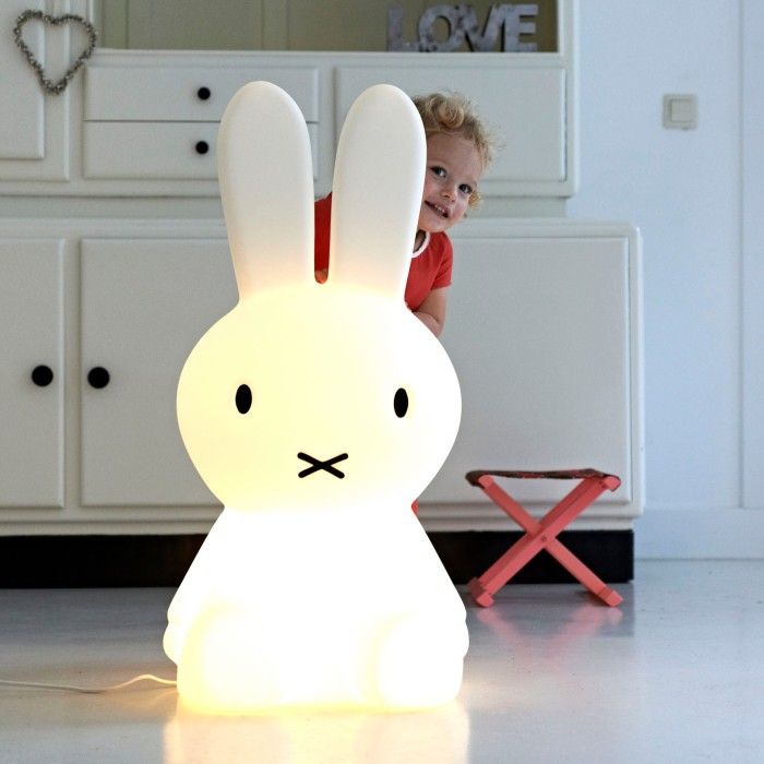 MR MIFFY LARGE MR MARIA LAMPE ENFANT LAMPE LAPIN DESIGN FUN CHAMBRE ENFANT