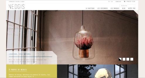 Boutique de luminaires design Nedgis