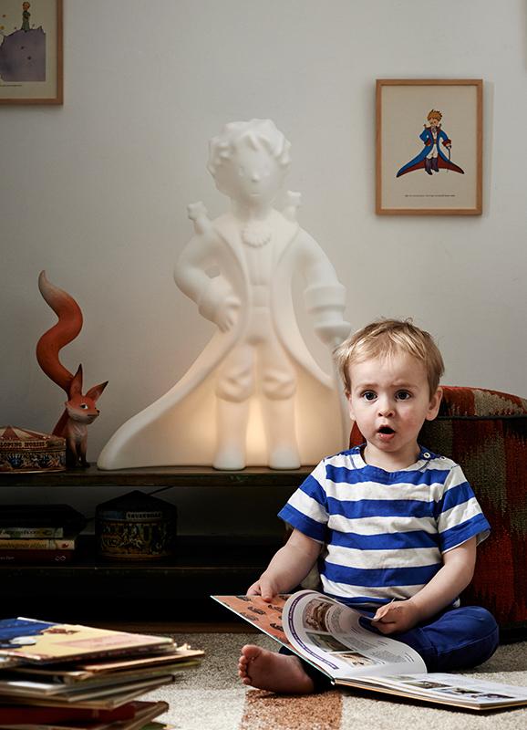 Lampe petit prince mr maria-lampe enfant design-lampe fun-saint exupery