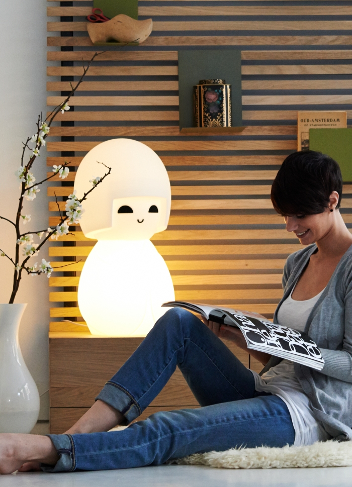 Lampe KOKESHI Mr maria lampe fun lampe japonaise lampe enfant design chambre enfant