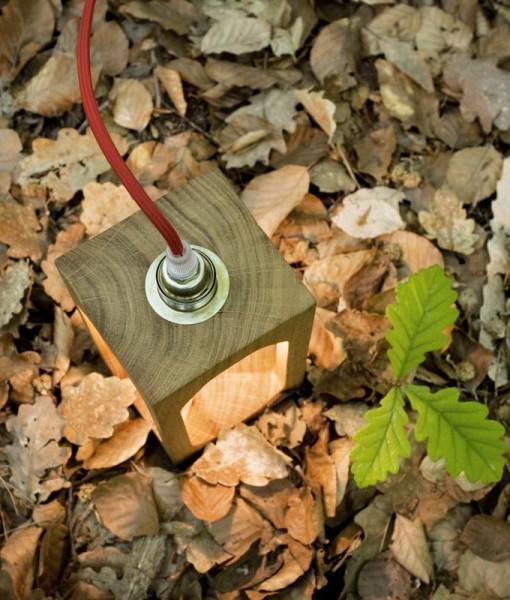 Lampe à poser écologique, Lantern, Blumen, pour extérieur - Nedgis