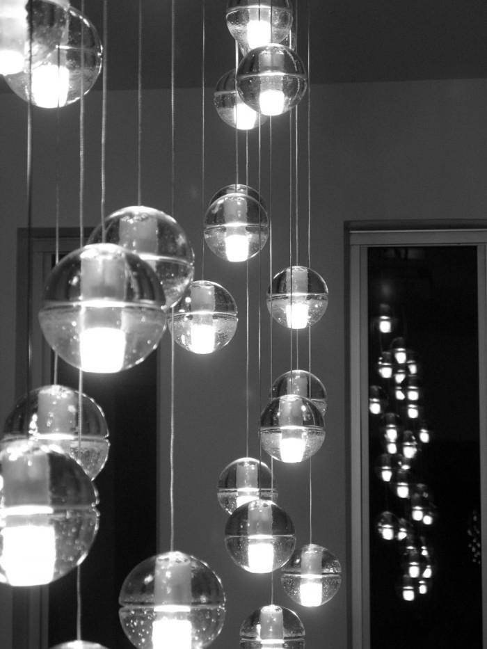 lustre hall d'entrée Bocci design contemporain luminaire