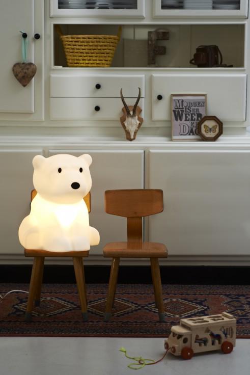 lampe nanuk mr maria lampe design enfant chambre enfant dutch design studio lampe ours