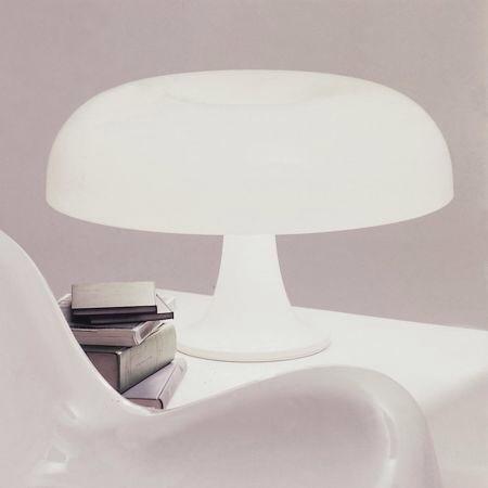 lampe à poser bureau artemide nessino design intemporel