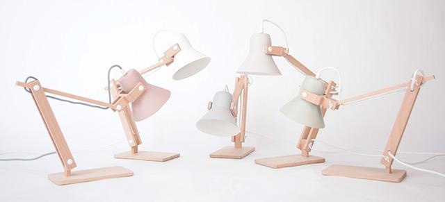 Lampe rose gold maison design apsip