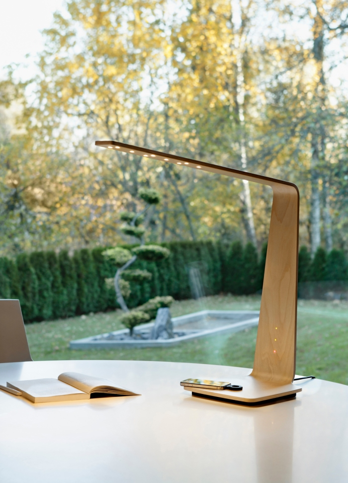 tunto-powerkiss-led-lamp-wireless-charger 8LED BIRCH BOULEAU DESIGN_1