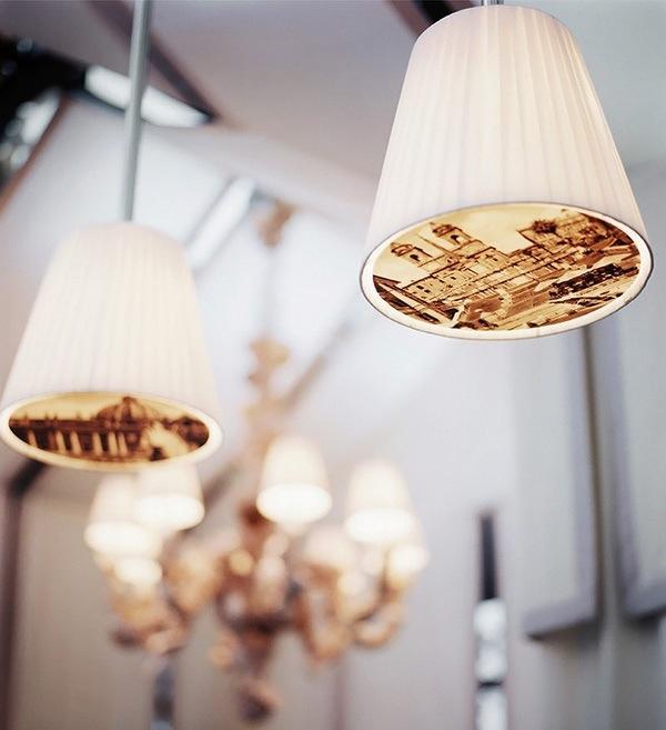 Palace Royal Monceau décoré par le designer Philippe Starck-suspension blanche vieilles photos