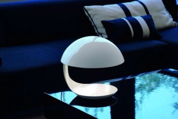 Lampe Cobra Martinelli luce lampe design italienne blanche