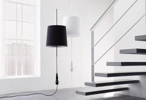 frandsen lighting lampadaire étrange design scandianve danois