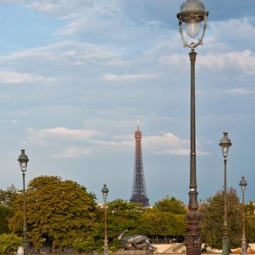 Lampadaire parisien!