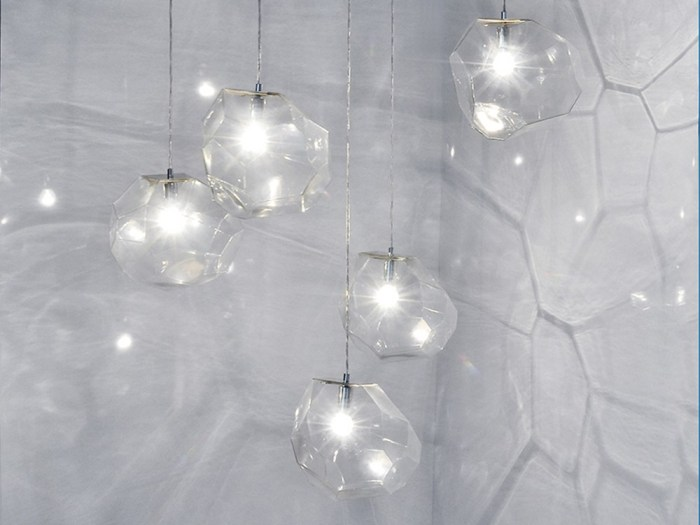 Suspension Asteroid, Verre transparent - Innermost, Koray Ozgen - Nedgis