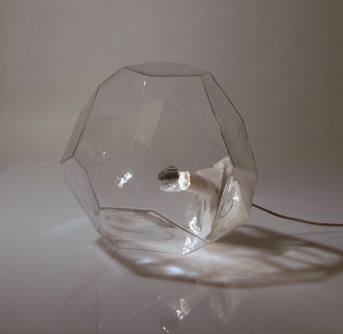 Lampe à poser Asteroid, Verre transparent - Innermost, Koray Ozgen - Nedgis