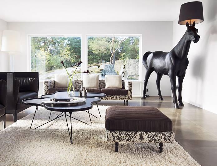 Moooi Horse marcel wanders lampadaire cheval design