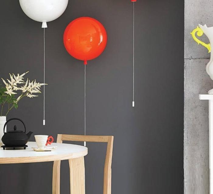 Applique murale, Memory, orange, H26,35cm - Ø25cm - Brokis