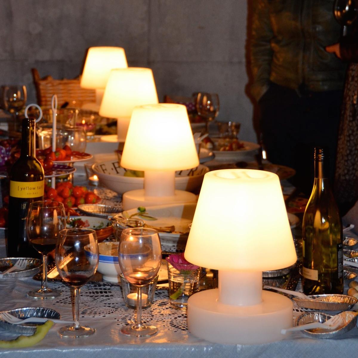 Comment clairer sa table de jardin - Lampe de jardin led ...