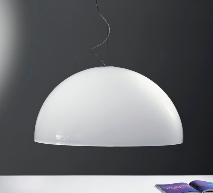 Suspension, BUBBLES, blanc, Ø55cm - Martinelli-luce