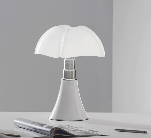 Lampe blanche Pipistrello, Martinelli Luce