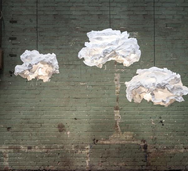 Suspension, Cloud-Nuage, blanc, Ø60cm - PROPLAMP