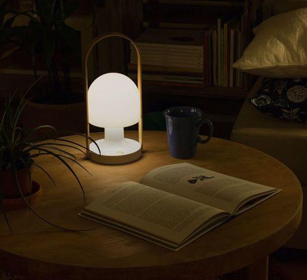 Lampe à poser, Follow me, blanc, H28,8cm - Marset