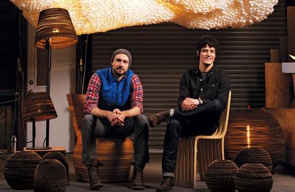 Les designers Seth Grizzle et Jonathan Junker