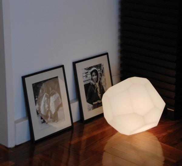 LAMPE À POSER, ASTEROID, BLANC, Ø30CM - INNERMOST