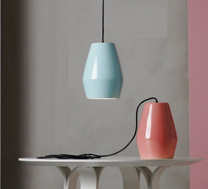 SUSPENSION, BELL, BLEU, H28CM - NORTHERN-LIGHTING