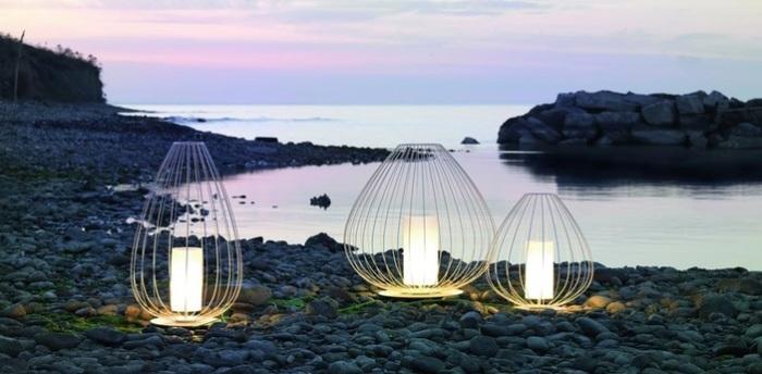 Karman lighting des luminaires de jardin hors du commun for Lampe japonaise exterieur