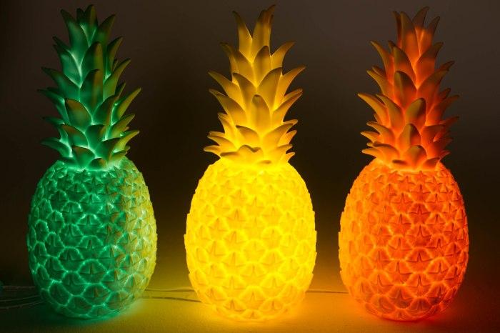Lampe Ananas, pour enfants, de Ballon Rouge